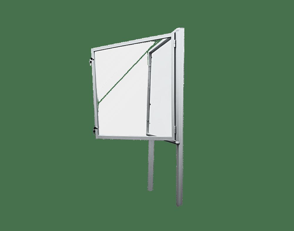 gablota aluminiowa ogloszeniowa