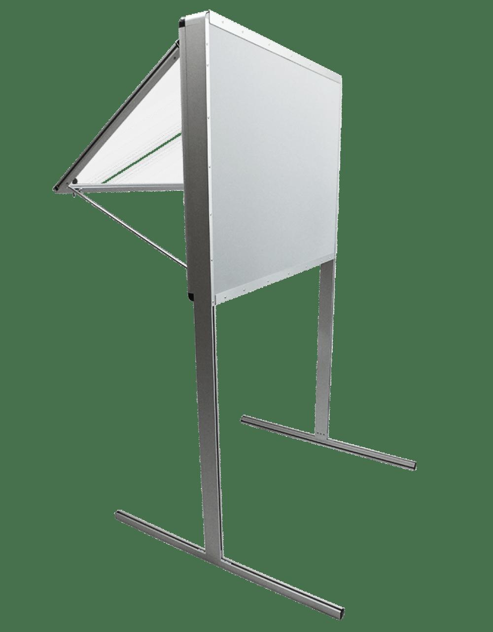 gablota aluminiowa wewnetrzna