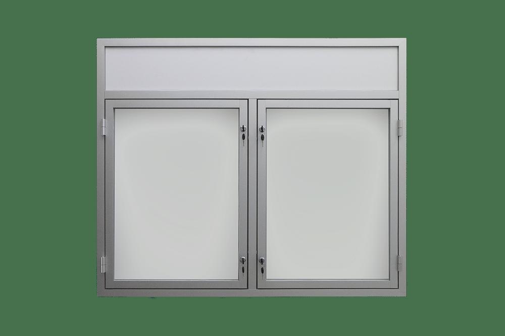 gablota ogloszeniowa aluminiowa