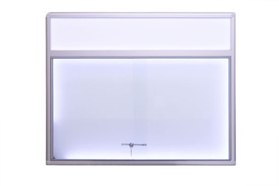 Aluminiowa gablota 1PH6FG2 wewnętrzna jednostronna na boki
