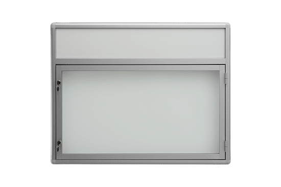 Gablota aluminiowa 2JBP6FG7 jednostronna na boki