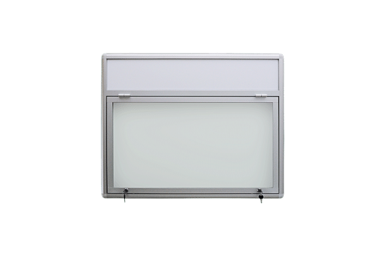 Aluminiowa gablota 32-JG3F-VZ jednostronna jednoskrzydłowa