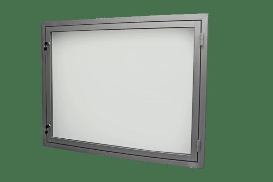 Aluminiowa gablota 54-JB3,2-YQ wewnętrzna jednoskrzydłowa na boki