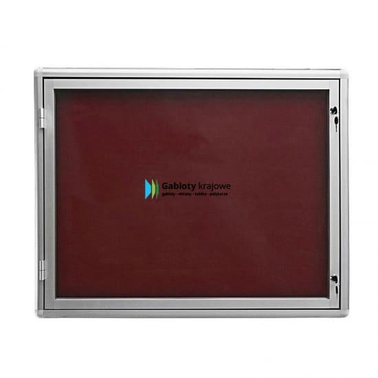 Aluminiowa gablota 54-JB3-QZ zewnętrzna jednostronna