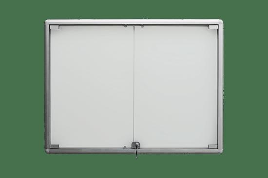 Aluminiowa gablota 8DS3HG4 wewnętrzna wisząca