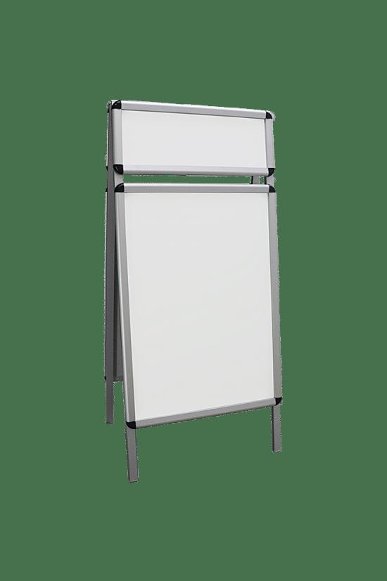 Aluminiowa gablota 02-P11-YQ wewnętrzna stojąca dwustronna