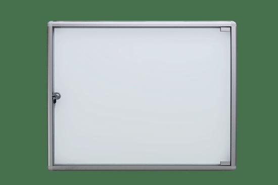 Aluminiowa gablota 06-JB3H-ZQ wisząca jednostronna
