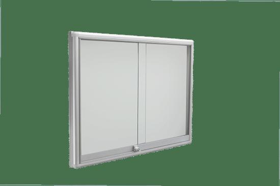 Aluminiowa gablota 10PH6G1 jednostronna 1-skrzydłowa