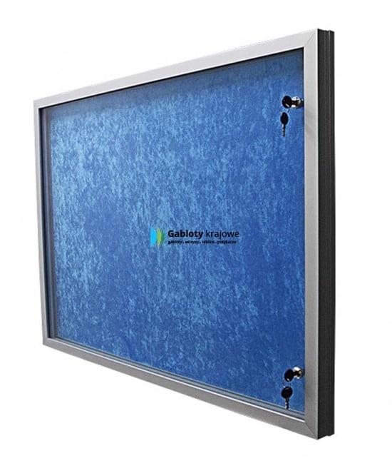 Aluminiowa gablota 31-JB4-YY wewnętrzna jednostronna