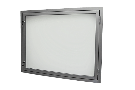 Gablota aluminiowa 5JB3,2G9 aluminiowa wisząca