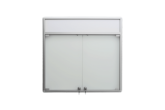 Gablota aluminiowa 9DS3HFG5 jednostronna uchylana na boki