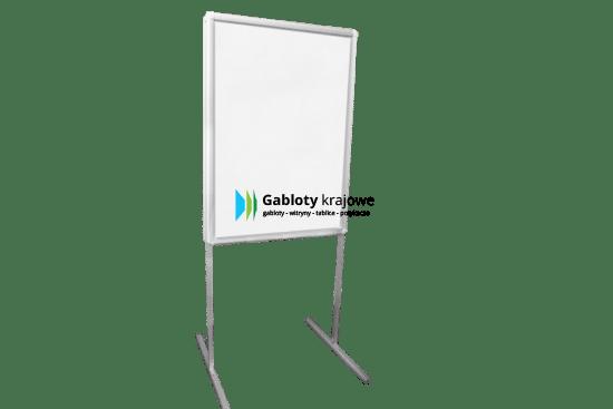 Aluminiowa gablota 10T6G1 wewnętrzna wolnostojąca jednostronna