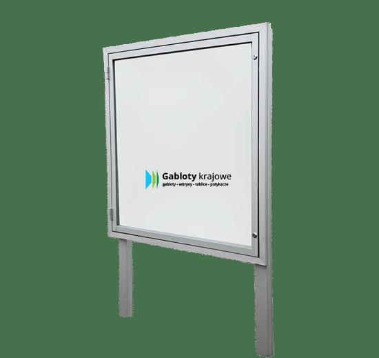 Gablota informacyjna 02-WJB3,2-XZ aluminiowa wolnostojąca na boki