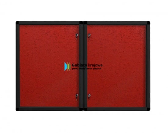 Gablota informacyjna 03-DS6-XX aluminiowa jednostronna uchylana