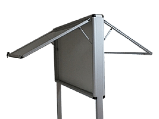 Gablota informacyjna 6WWDJGG8 wewnętrzna stojąca jednoskrzydłowa
