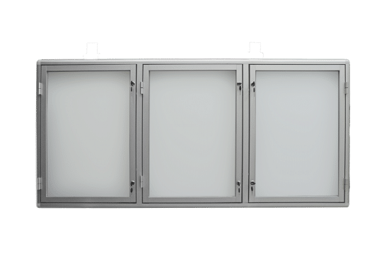Gablota informacyjna 7TS3G5 aluminiowa jednostronna
