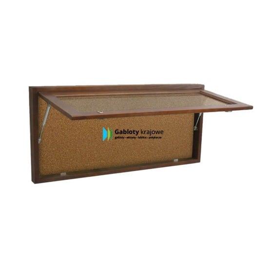 Gablota informacyjna 98-GD7-VV drewniana jednostronna uchylana