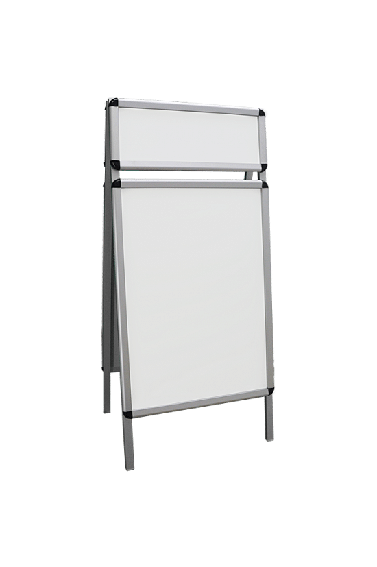 Korkowa gablota 5P11G3 wewnętrzna aluminiowa dwustronna