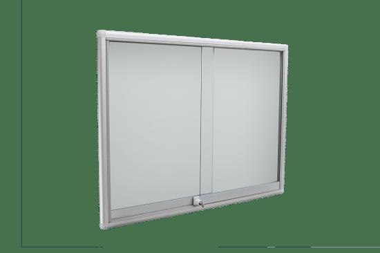 Korkowa gablota 8PH3G8 aluminiowa wisząca przesuwana