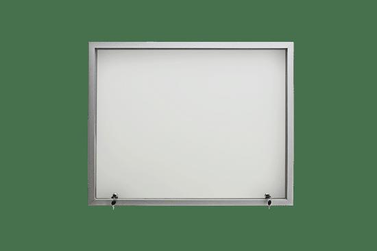 Gablota ogłoszeniowa 05-JG4-VV wewnętrzna aluminiowa wisząca