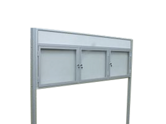 Gablota ogłoszeniowa 52-WTSP6F-VQ aluminiowa uchylna