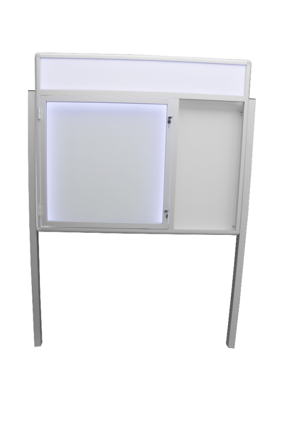 Gablota otwierana na boki 5WJCP6FG3 zewnętrzna aluminiowa jednostronna