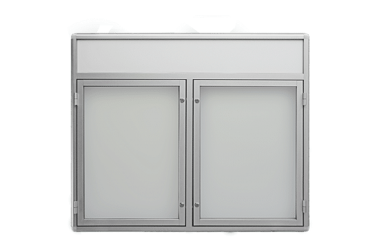 Gablota otwierana na boki 7DS3FG3 wewnętrzna aluminiowa