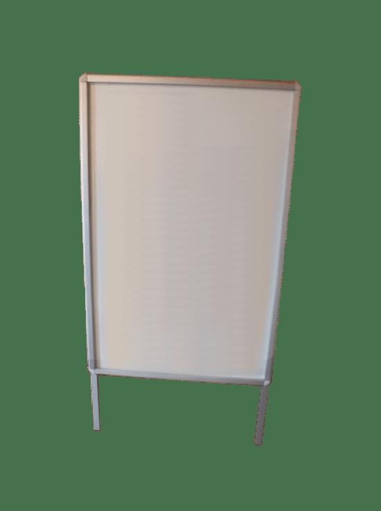 Gablota stojąca 01-P1-XQ aluminiowa wolnojednostronna