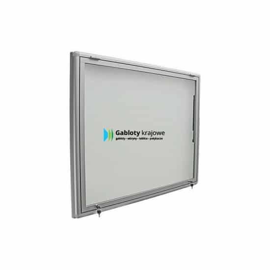 Gablota szklana 01-JGPT6-XZ zewnętrzna aluminiowa jednostronna
