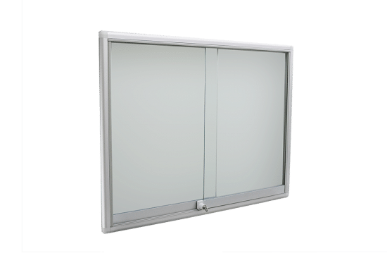Gablota ze szkła 14-PH3-VY wewnętrzna aluminiowa