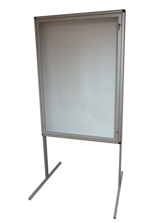 Gablota szklana 28-WWJJAB1-YQ wewnętrzna jednoskrzydłowa na boki