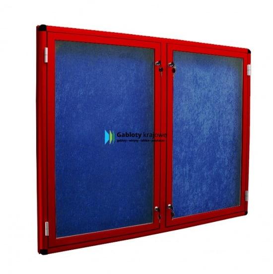 Szklana gablota 3DSP6G1 wewnętrzna jednostronna
