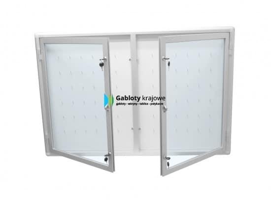Gablota szklana 3KA3G1 wewnętrzna aluminiowa