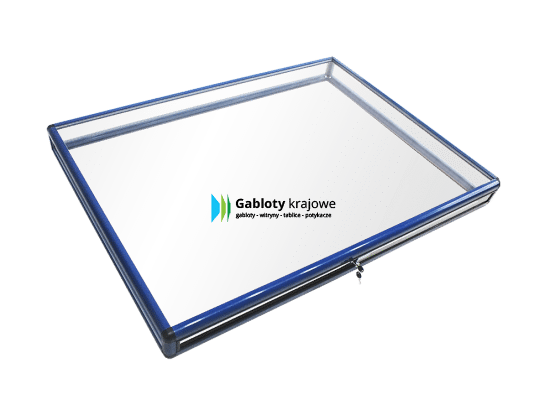 Gablota szklana 3M6G2 wewnętrzna aluminiowa