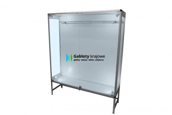 Szklana gablota 3SDAB5G9 aluminiowa na boki