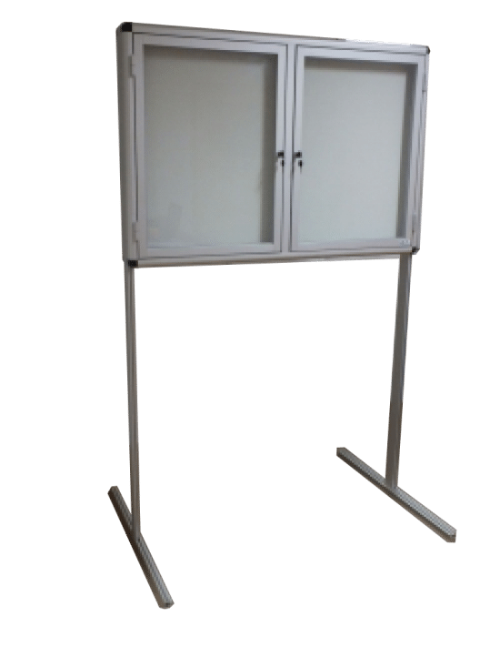 Gablota szklana 40-WWJDB-VQ stojąca na boki