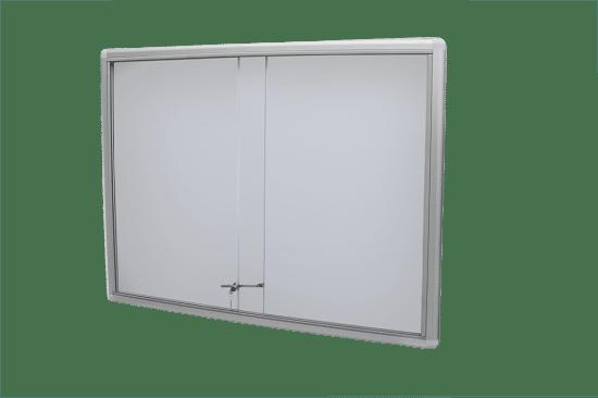 Gablota szklana 48-P3-VQ aluminiowa przesuwna