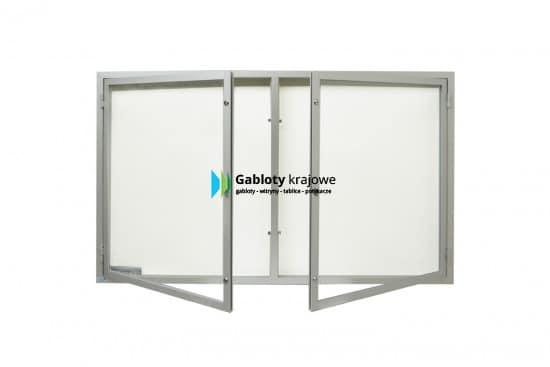 Gablota szklana 5DSP6,2G3 wewnętrzna dwuskrzydłowa