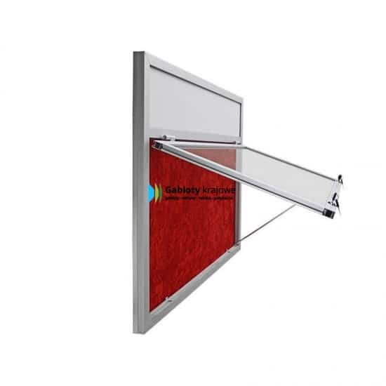 Szklana gablota 5JG3,2FG4 jednoskrzydłowa do góry