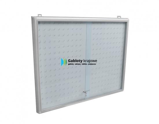 Gablota ze szkła 5KA5G3 aluminiowa jednostronna przesuwna
