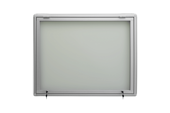 Gablota szklana 6JG3G8 aluminiowa wisząca uchylna