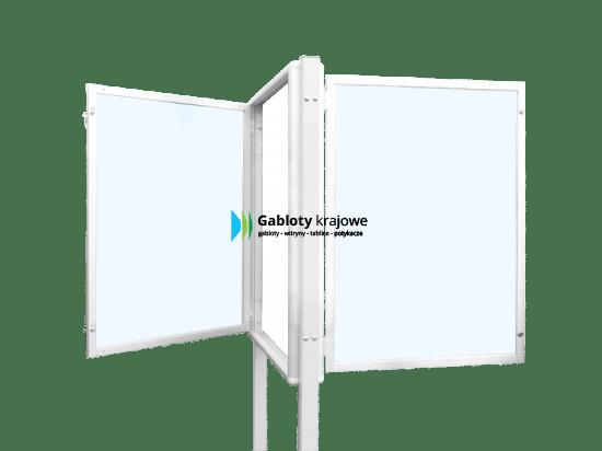 Gablota szklana 85-WDJB13-VZ zewnętrzna uchylana na boki