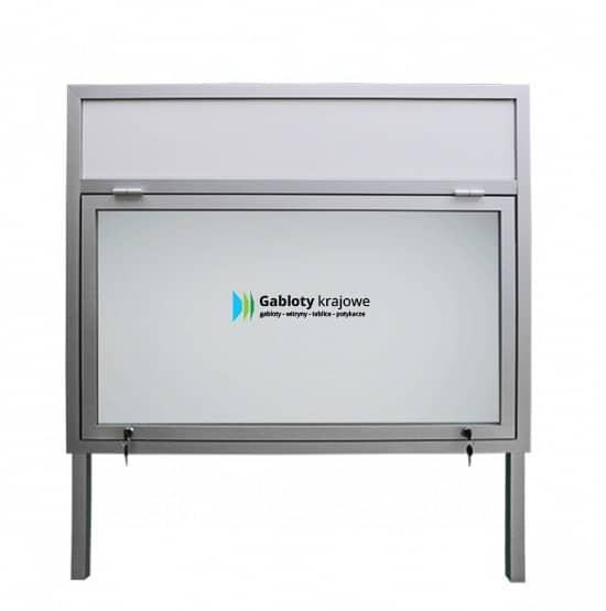 Gablota szklana 9WJG3,2FG7 zewnętrzna aluminiowa