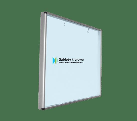 Aluminiowa gablota 02-SAP1-VV wewnętrzna wisząca przesuwna