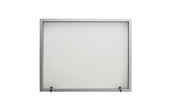 Aluminiowa gablota 05-JG4-VV 1-skrzydłowa uchylana