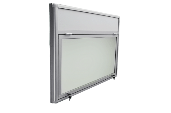 Aluminiowa gablota 05-JGPT6F-QV wewnętrzna wisząca uchylna