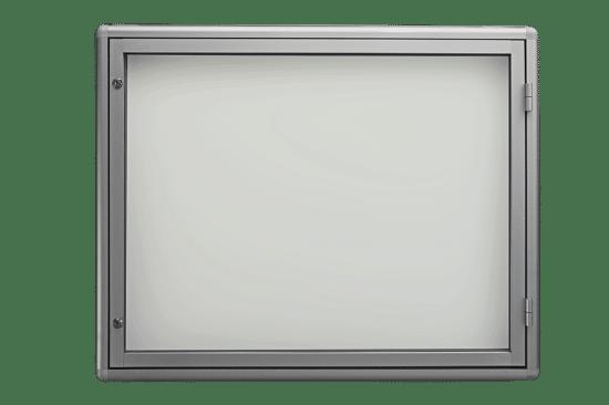 Aluminiowa gablota 21-JB3-YQ jednostronna jednoskrzydłowa na boki