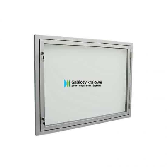 Gablota zewnętrzna 05-JB3,2-XZ aluminiowa wisząca jednostronna