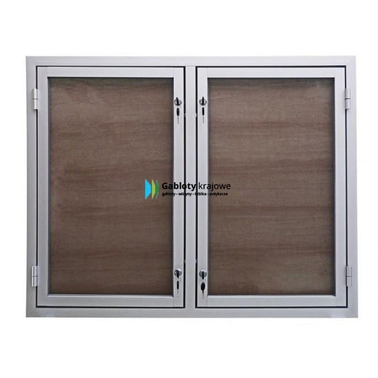 Gablota zewnętrzna 47-DS3,2-ZX aluminiowa uchylna