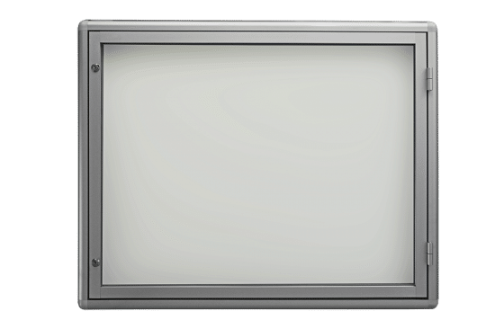 Szklana gablota 1JB3G5 jednoskrzydłowa uchylna na boki